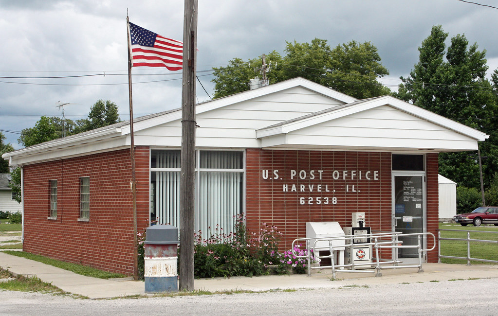 Harvel Il U S Post Office 62538 Harvel Is A Village
