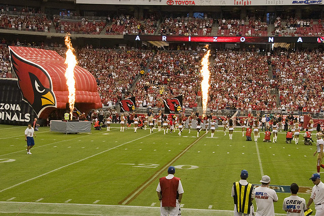 San Francisco 49ers at Arizona Cardinals, September 13, 2009 from Flickr via Wylio