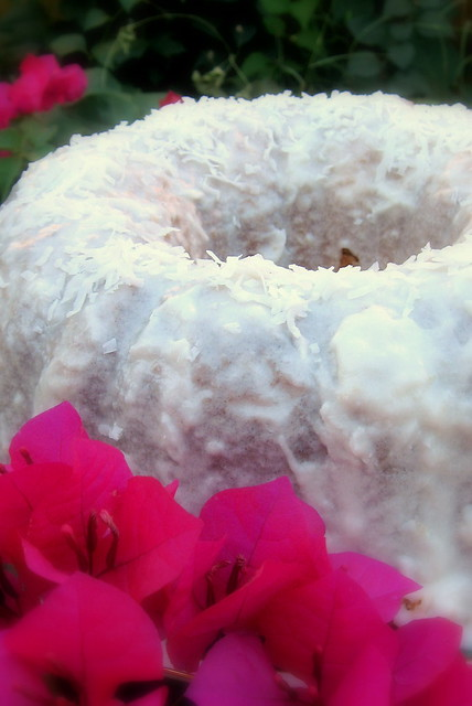 Coconut Rum Cake With Cake Mix