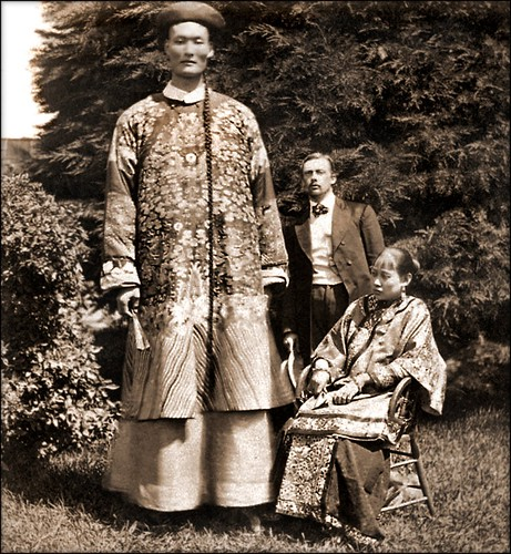 Chang The Chinese Giant [c1870] Attribution Unk [RESTORED]