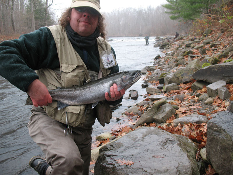 Leaky waders salmon river for York river fishing report
