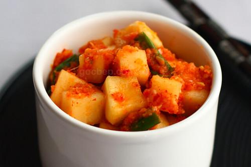 Radish kim chi