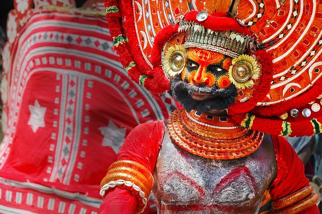 Theyyam Kerala India