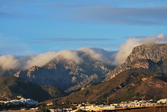 Mountains behind Nerja