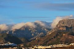 Mountains behind Nerja