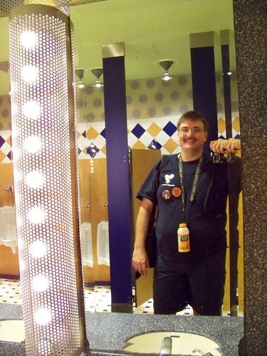 Pop Century Classic Hall restroom