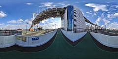 Tokyo Rainbow Bridge - Shibaura anchorage