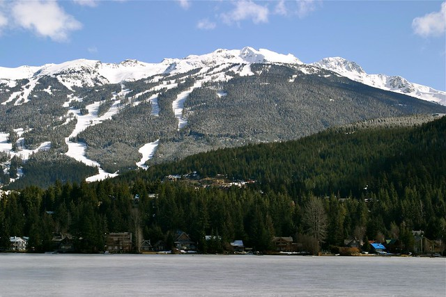 superb Whistler view from Alta Lake cabin