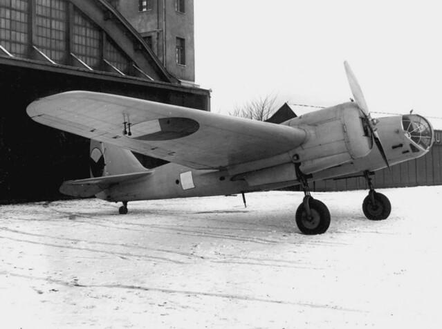 Avia B 71 (licence-built Soviet SB bomber)