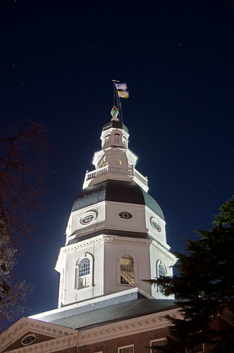 night stars capital maryland annapolis rotunda dri statehouse ussmaryland