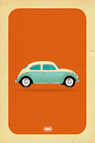 VW Beetle iphone Wallpaper  Flickr  Photo Sharing!