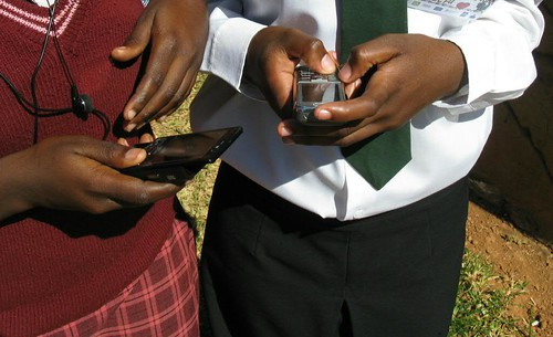 Zambian high schoolers and their mobile phones