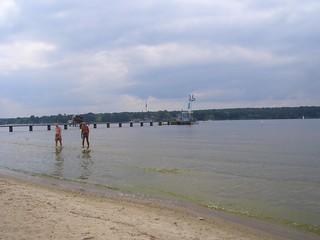 Strandbad Wannsee közelében Nikolassee képe. berlin urlaub strandbadwannsee