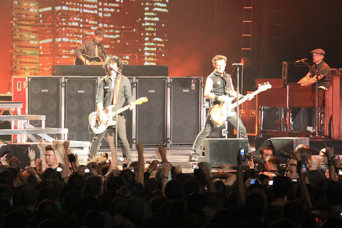 Green Day concert in Montreal