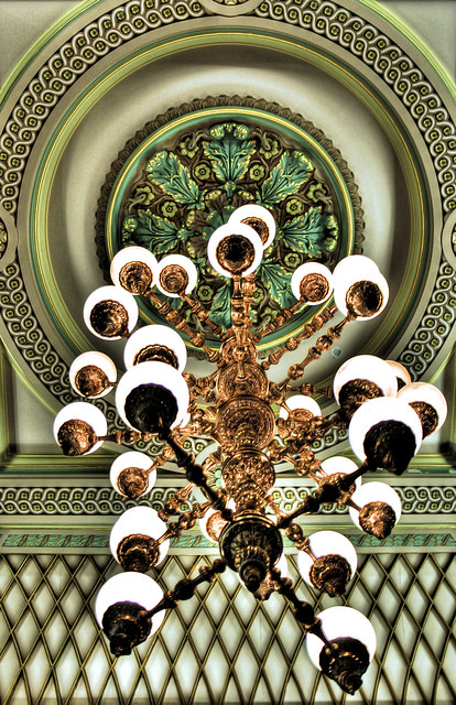 Melbourne State Library Chandelier Flickr Photo Sharing