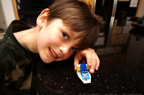 nick whipped up two custom lego creations for himself and his brother    MG 1558
