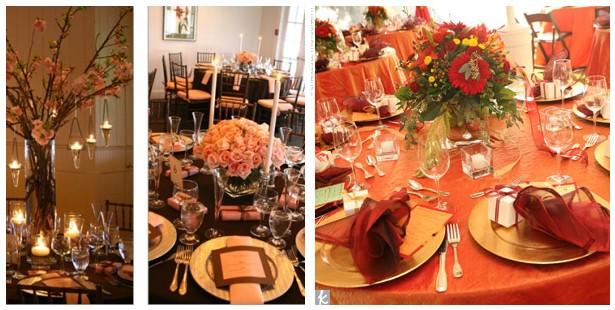 Fall Table Centerpiece Wedding Ideas: Fall Wedding Table Decorations