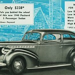1940 Packard One-Ten 2-Dr. Touring Sedan