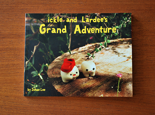 """ickle and Lardee's Grand Adventure"" Book"