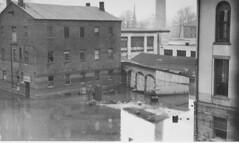 Flood of 1936 - Buildings near factory