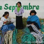Selling Ropes - Otavalo Market, Ecuador