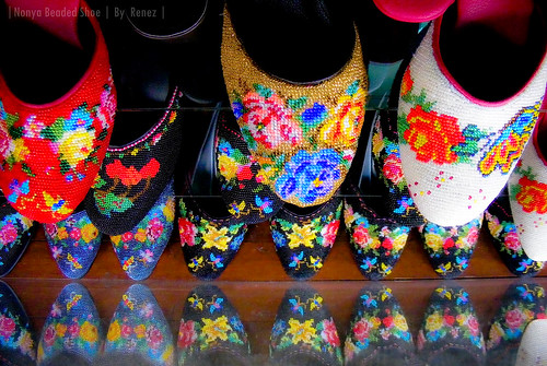 Nonya Beaded Shoe