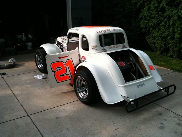 Legends quot race car flickr photo sharing