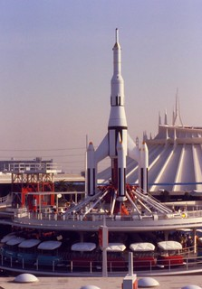 Rocket Jets ride, Disneyland, 1979