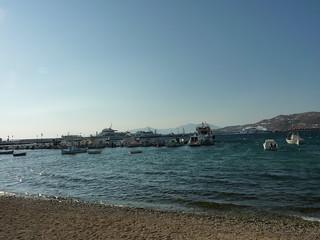 Obraz Gialos (Γιαλός) Plaża o długości 98 m.