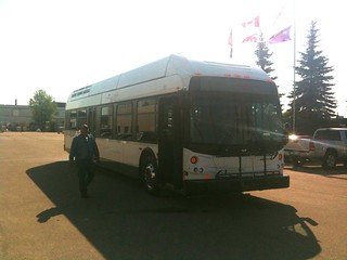 New Flyer H40LFR Hydrogen Bus