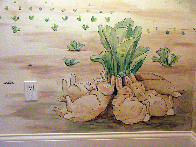 3869385430 ed25ca5b7b for Beatrix potter wall mural