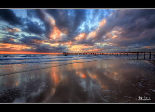 ocean sky seascape reflection beach nature water clouds canon sand surf waves jetty australia wideangle adelaide southaustralia hdr highdynamicrange 1740 henleybeach 3xp photomatix henleyjetty alemdagqualityonlyclub 5dmkii
