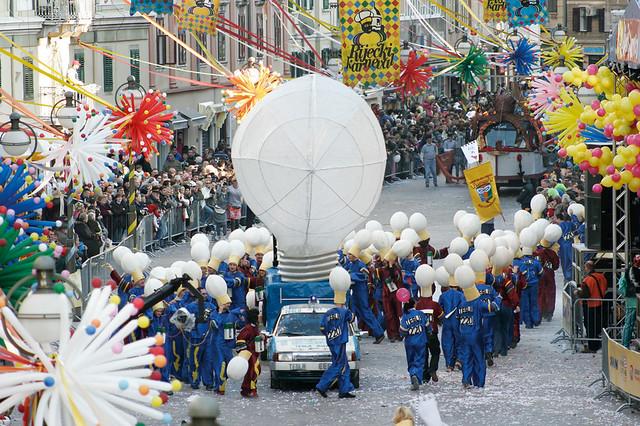Carnival Parade in Rijeka - Kvarner, Croatia