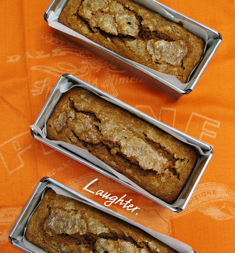 Pumpkin Tea Cake (with title) | Flickr - Photo Sharing!