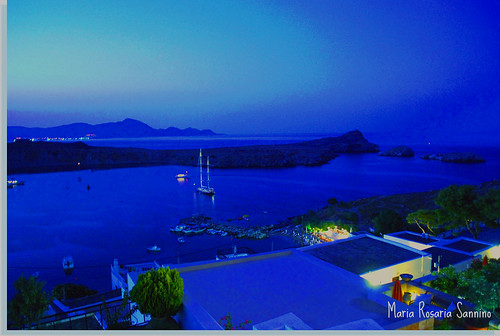 Lindos, a dream night
