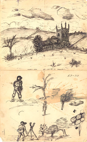 Sketch of World War II