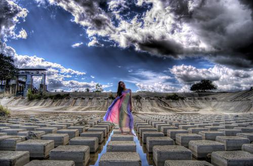 beauty model scenery dam philippines filipina iloilo