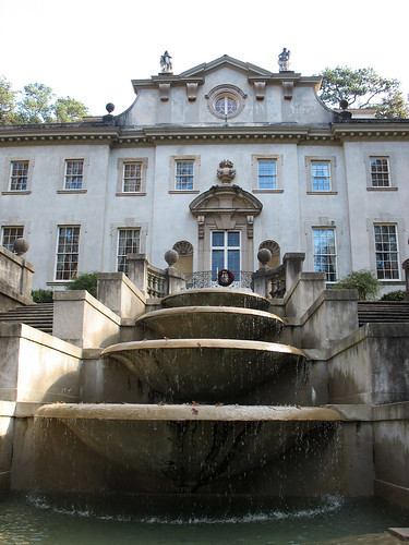 Swan House Fountains