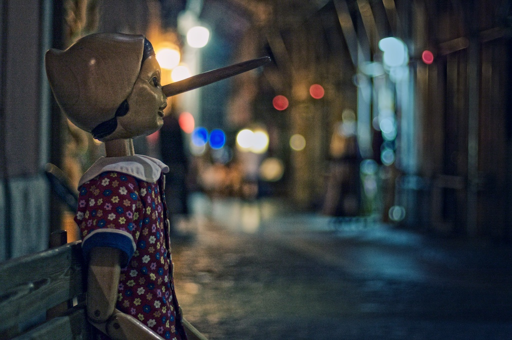 Pinocchio by Michiel Jelijs. Almoys a real boy. Shared under Creative Commons