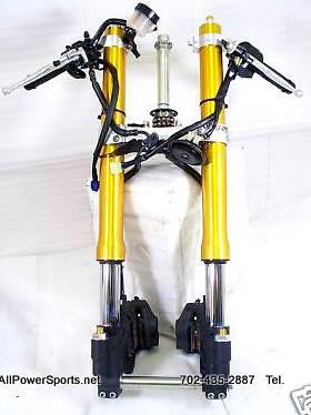 2008 yamaha r6 r model front end forks complete tail light ...