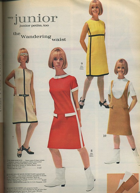 1966 junior mod dresses