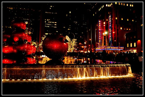 New York during Christmas