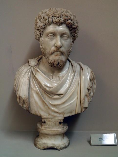 Bust of Marcus Aurelius, 2nd century AD, Ephesus Museum, Selçuk, Turkey