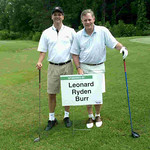 FPC Lou Baldwin and Senator Richard Burr team up in charity golf tournament