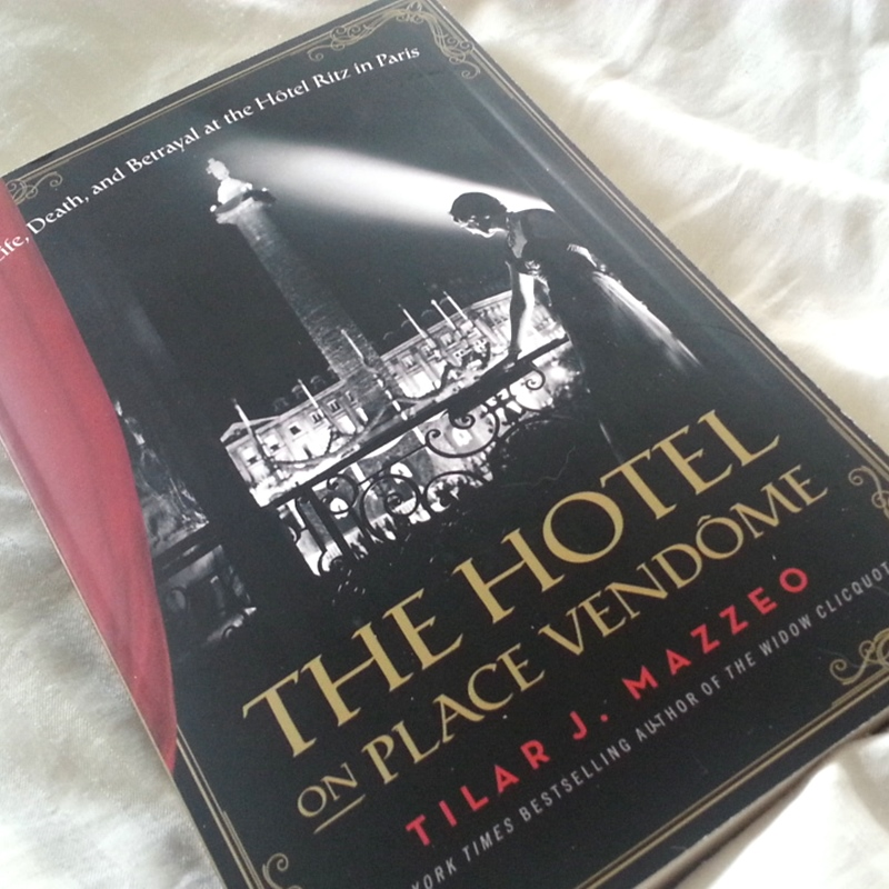The Hotel on Place Vendome book
