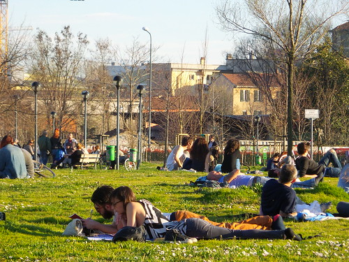 Un domenica di sole al parco by Ylbert Durishti