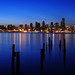 Seattle at Dawn from Alki