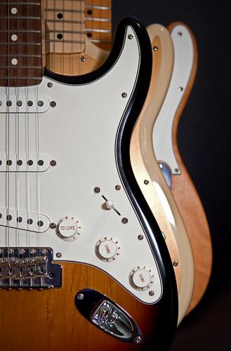 Fender Trio: Strat, Duo & Tele
