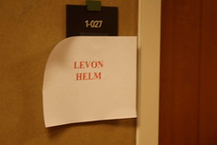 Levon Helm's Dressing Room