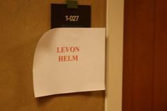 Levon Helm's Dressing Room